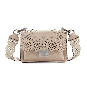 Rebecca Minkoff Nude Leather Christy Small Bag